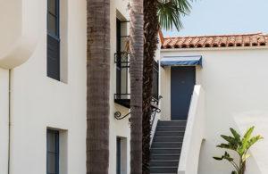 Mason Beach Inn stairs