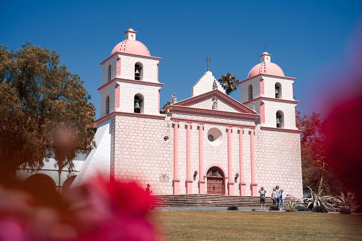 Santa Barbara Pink Building